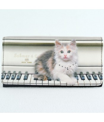 Portefeuille - Chat piano