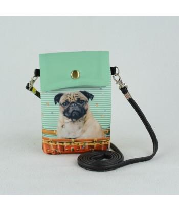 Petites pochettes téléphone - Carlin dans la valise