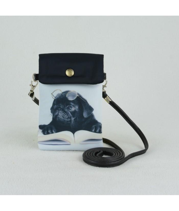 Petites pochettes téléphone - Carlin noir