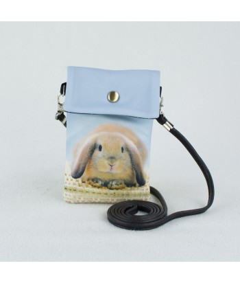 Petites pochettes téléphone - Lapin