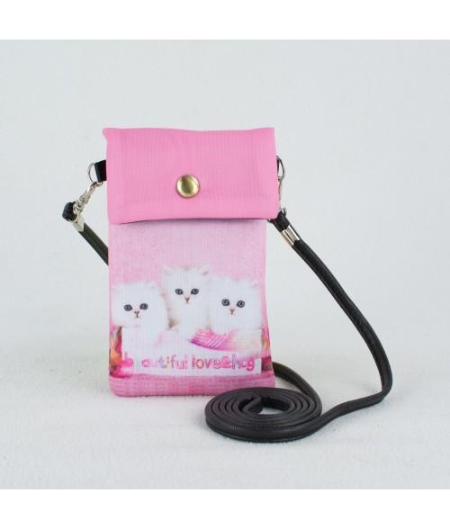 Petites pochettes téléphone - Chat PT1