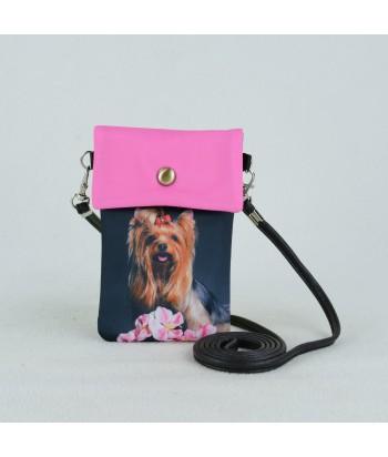 Petites pochettes téléphone - York orchidée