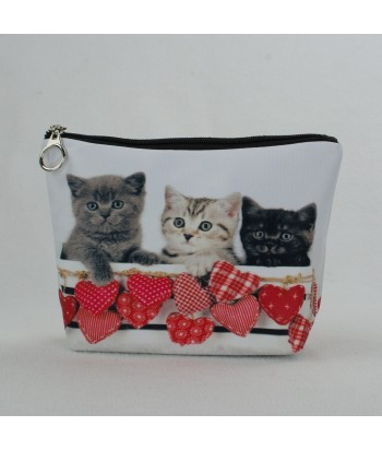 Trousse - Chatons petits coeurs