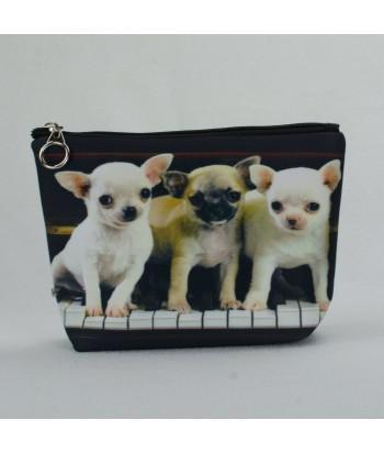 Trousse - Bébés chihuahuas piano
