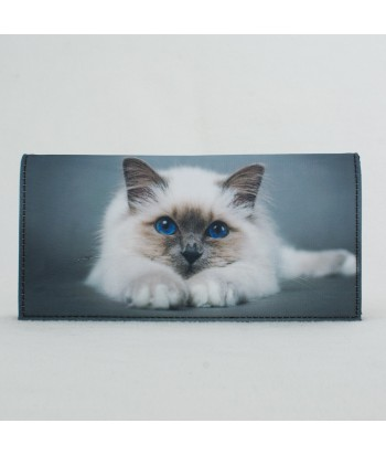 porte-documents voiture - Chat sacre de Birmanie