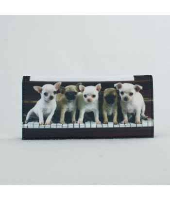 porte-documents voiture - Bébés chihuahuas piano