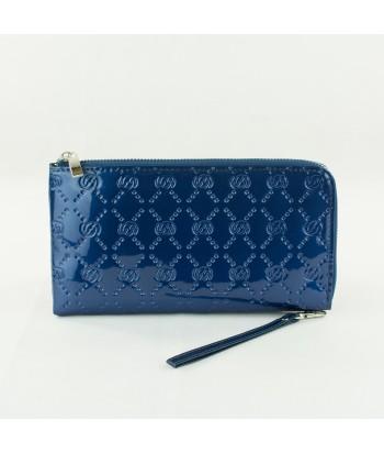 Compagnon zip -Bleu roi brillant