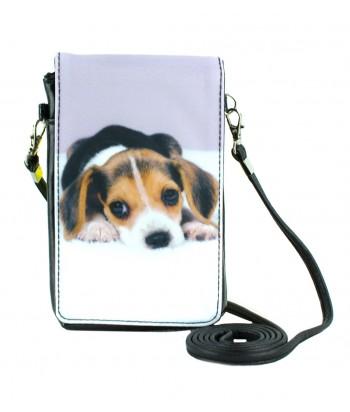Pochettes téléphones XXL - Beagle couché