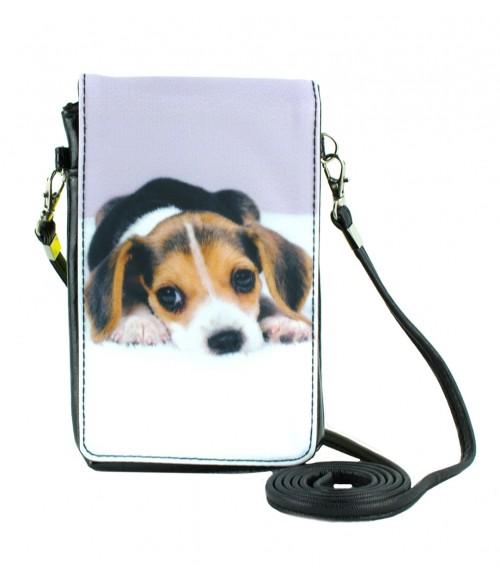 Pochettes téléphones XL - Beagle couché