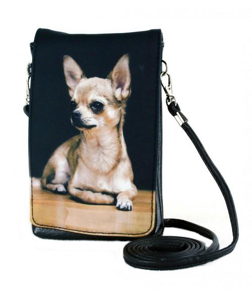 Pochettes téléphones XL - Chihuahua solo