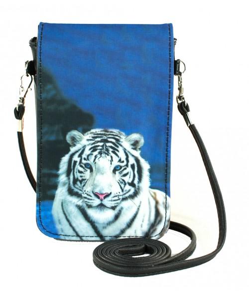 Pochettes téléphones XL - Le tigre blanc