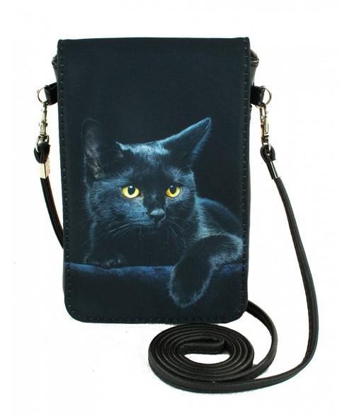 Pochettes téléphones XL - Le chat noir