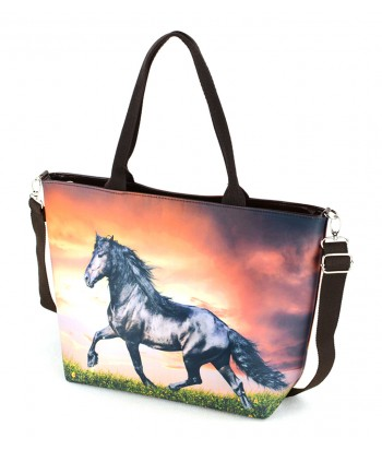 "Sac grand ""week-end"" - Cheval Frison"