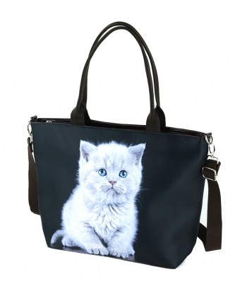 "Sac grand ""week-end"" - Chaton British"