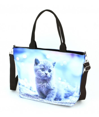 Sac Grand week-end - chaton bulle