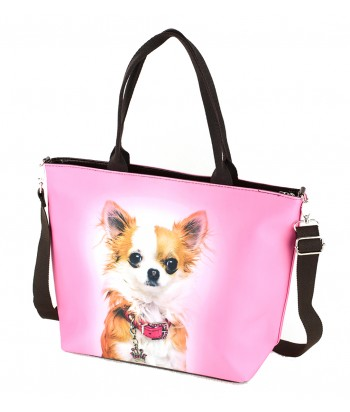 Sac Grand week-end - Chihuahua rose