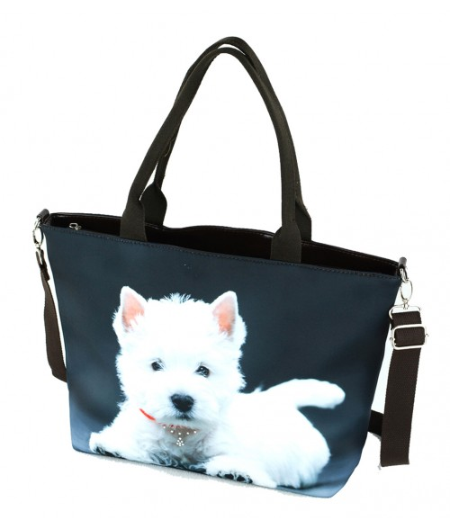 "Sac grand ""week-end"" - Westie solo"