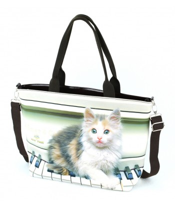 Sac Grand week-end - chat piano