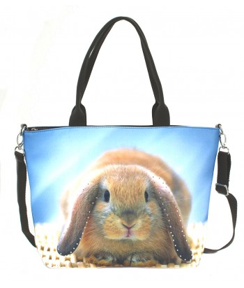"Sac grand ""week-end"" - Lapin"