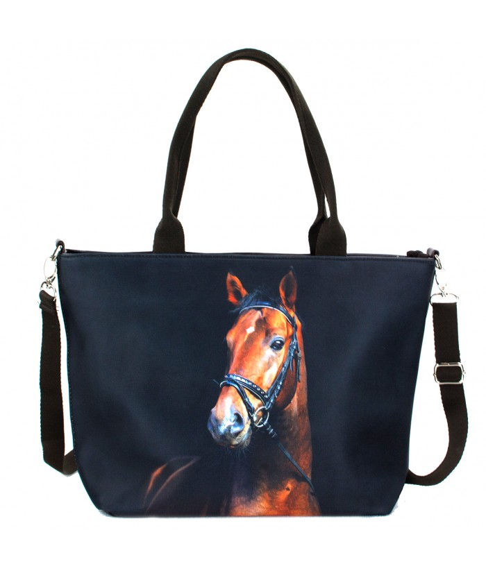 "Sac grand ""week-end"" - Cheval bai"