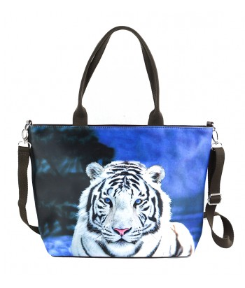 "Sac grand ""week-end"" - Tigre blanc"