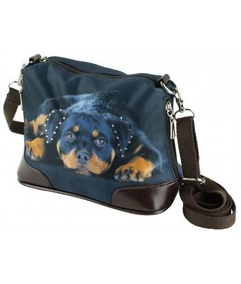 Petit sac bandoulière - Bébé rottweiler
