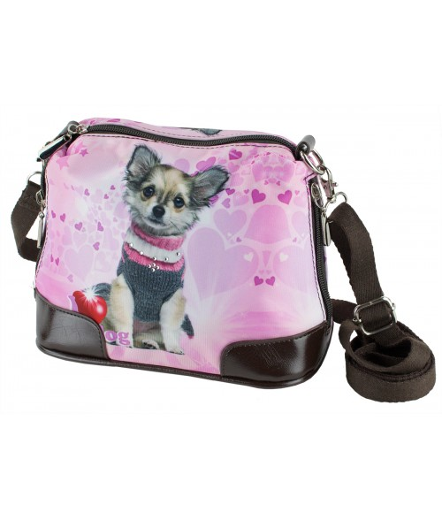Petit sac bandoulière - Chihuahua pull-over