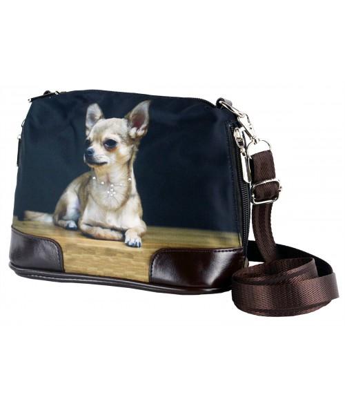 Petit sac bandoulière - Chihuahua solo