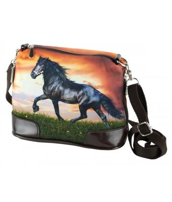 Petit sac bandoulière - Cheval Frison