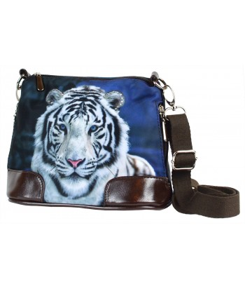 Petit sac bandoulière - Tigre blanc