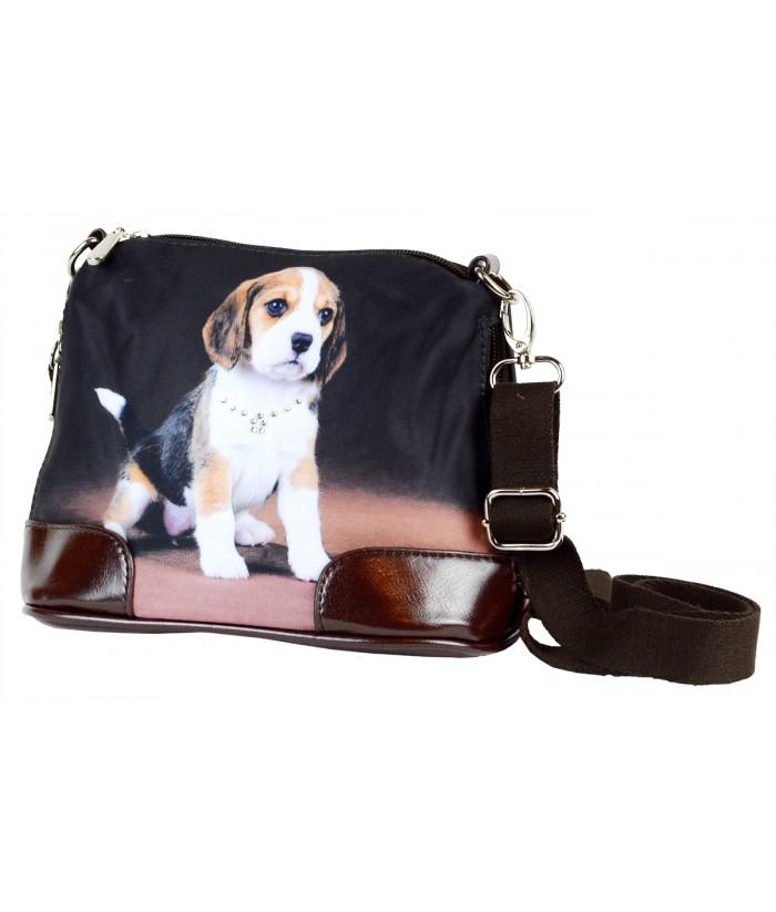Petit sac bandoulière - Bébé Beagle