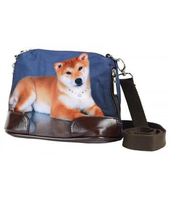 Petit sac bandoulière - Shiba inu roux