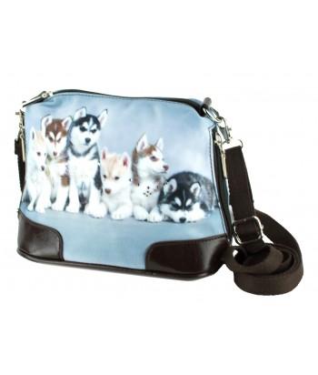 Petit sac bandoulière - Les huskies