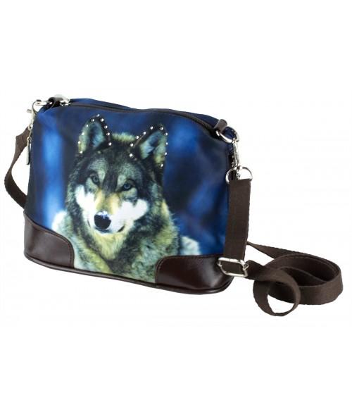 Petit sac bandoulière - Loup