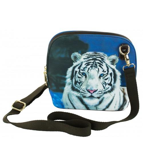 Le sac coque rigide - Le tigre blanc