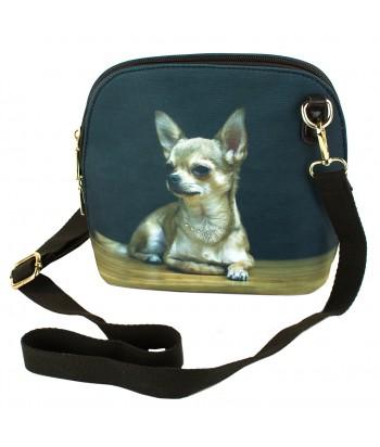 Le sac coque rigide - Chihuahua solo
