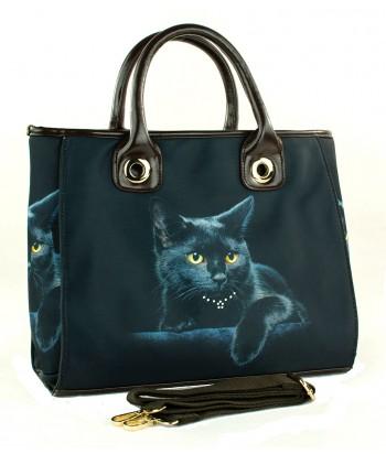Le sac de ville - Le chat noir