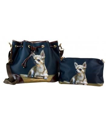 Les sacs 2 en 1 - Chihuahua solo