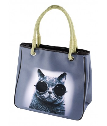 Sac Cabas - Chat soudeur