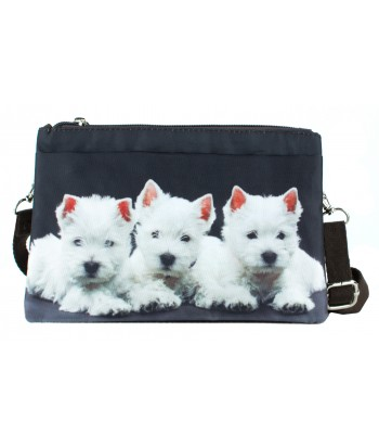 Sacoche double - 3 westies