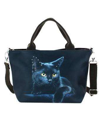 Petits sacs week-end - Le chat noir