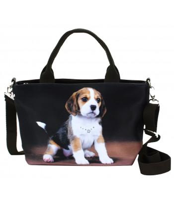 "Sac petit ""week-end"" - Bébé Beagle"