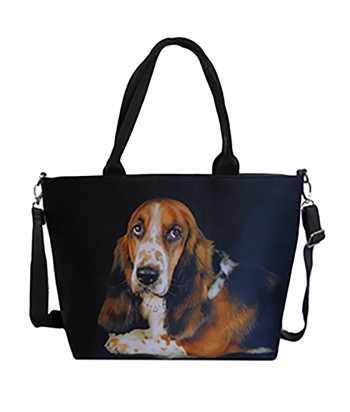 Sac grand week-end chien - Basset Hound