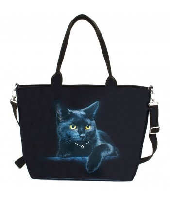 "Sac grand ""week-end"" - Le chat noir"