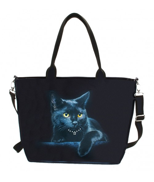 "Sac grand ""week-end""- Le chat noir"
