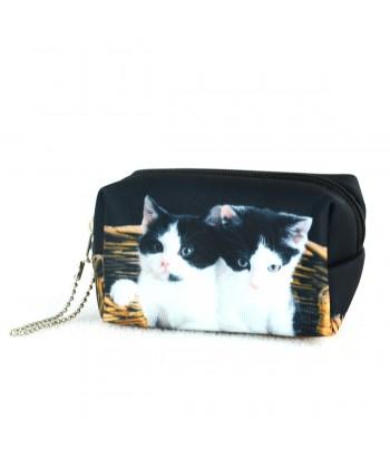 Bourse - 2 chats dans le panier