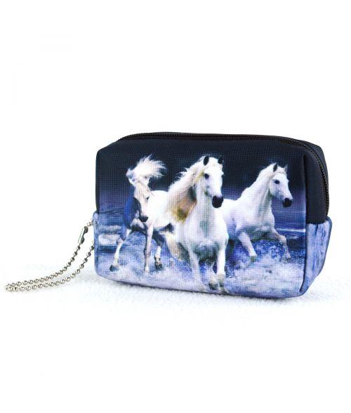 Bourse - 3 chevaux blancs sur l'eau