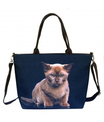 "Sac grand ""week-end"" - Chat Burmese"