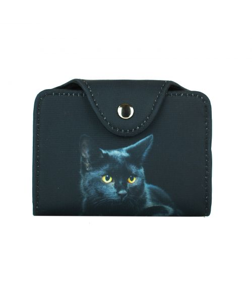 Porte-cartes - Le chat noir