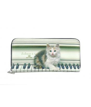 Compagnon avec zip - Chat piano